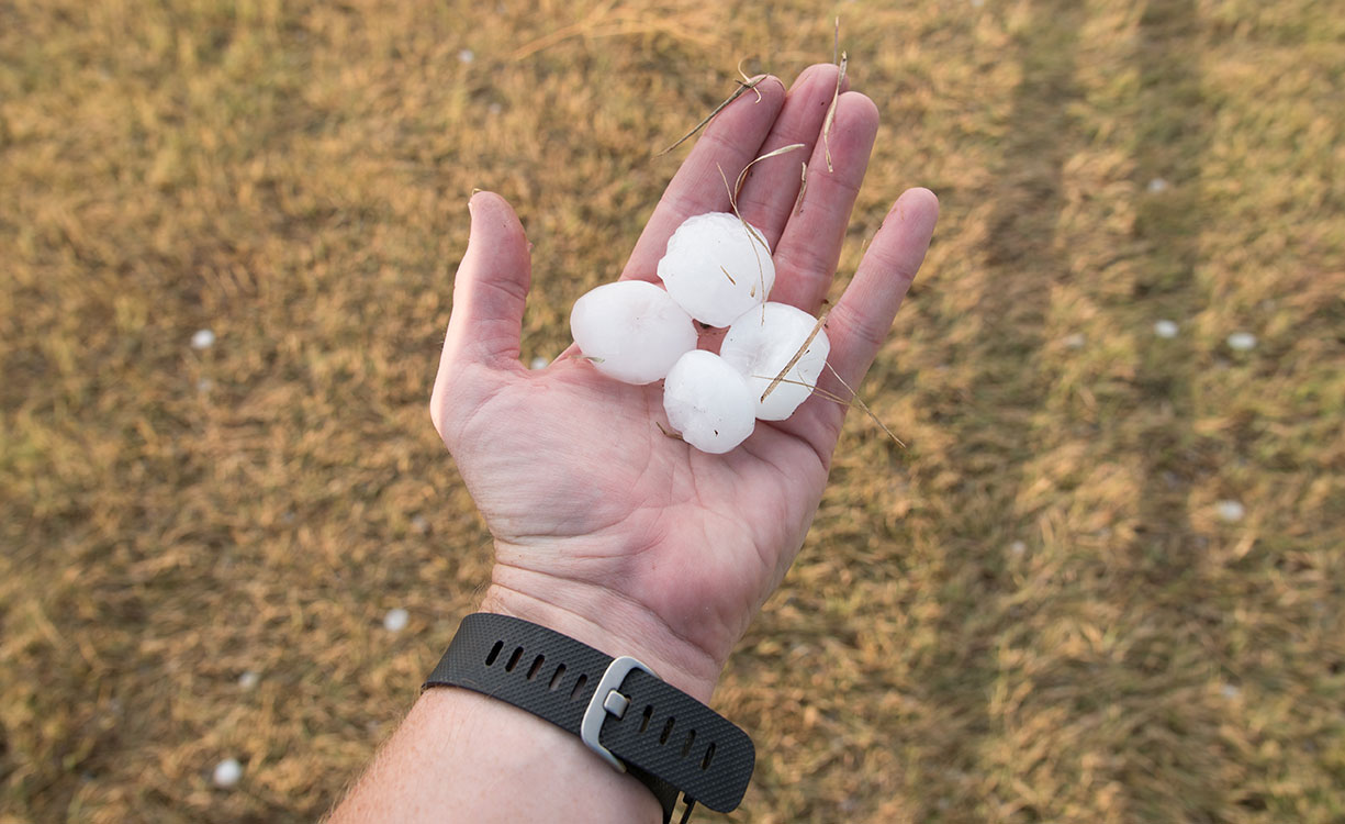 Dallas Hailstorm March 17, 2016