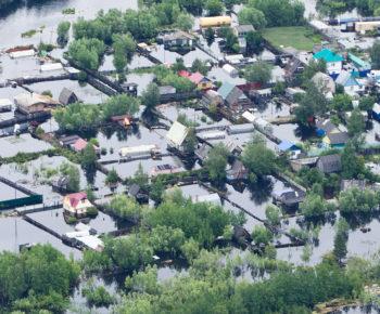 Flooded River Basin