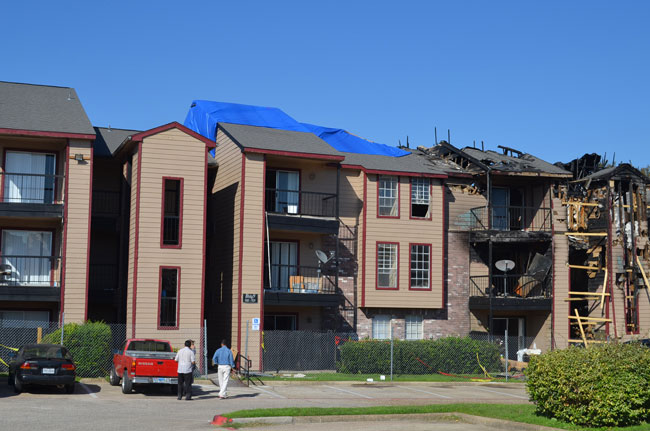 Apartment Fire Insurance Claim